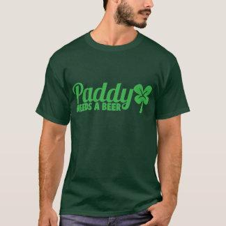 T-shirt Le PADDY a besoin d'une bière ! Conception de