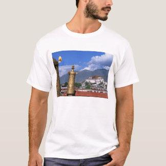 T-shirt Le Palais du Potala à Lhasa, Thibet pris de