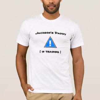 T-shirt Le papa de Jackson [dans la formation] - nouveau