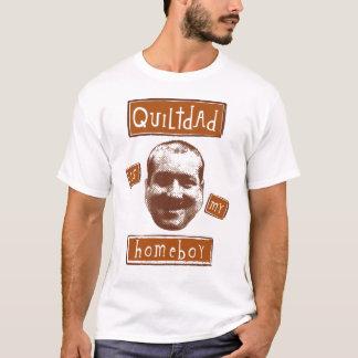 T-shirt le papa d'édredon est mon homeboy