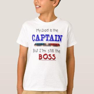 T-shirt Le papa est capitaine