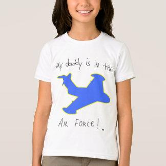 T-shirt Le papa est dans l'Armée de l'Air