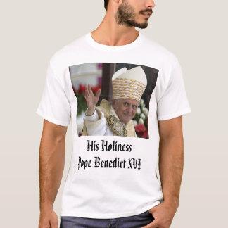T-shirt Le pape Benoît XVI, son HolinessPope Benoît XVI