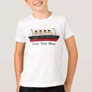 T-shirt Le paquebot personnalisé de passager badine la