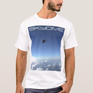 T-shirt le parachute skydive de parachutisme opacifie la