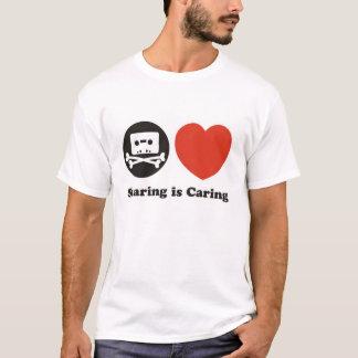 T-shirt Le partage s'inquiète !