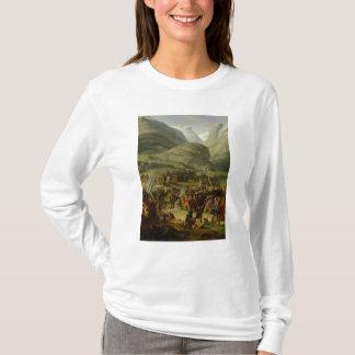 T-shirt Le passage de déplacement de St Bernard d'armée