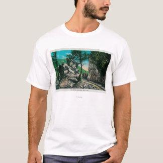 T-shirt Le passage du diable, Mt. LoweMt. Lowe, CA