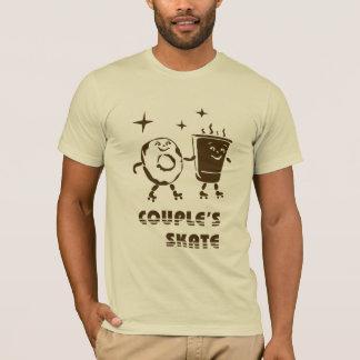 T-shirt Le patin du couple
