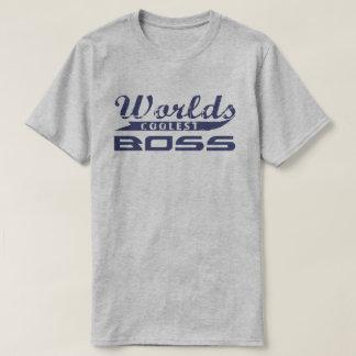 T-shirt Le patron le plus frais du monde