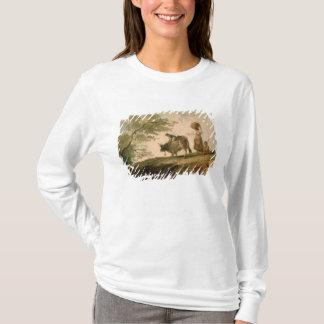 T-shirt Le pâturage