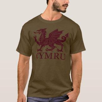 T-shirt Le Pays de Galles CYMRU