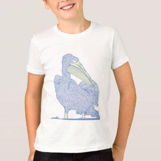 T-shirt Le pélican badine la chemise de sonnerie