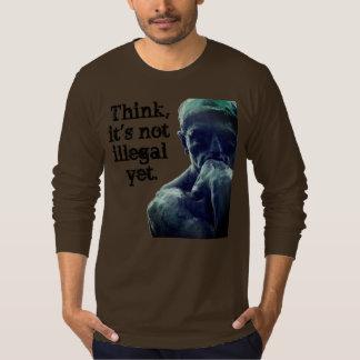 T-shirt Le penseur