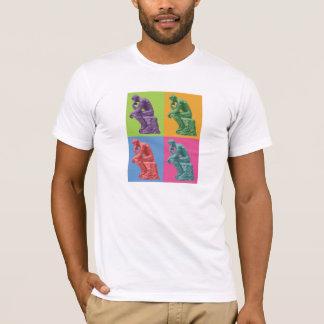 T-shirt Le penseur de Rodin - art de bruit
