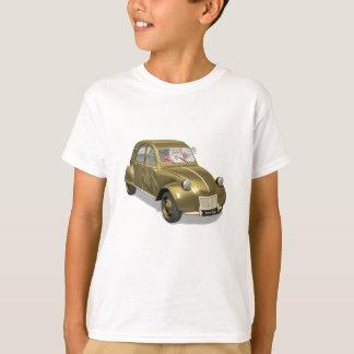 T-shirt Le père noël à Citroen 2CV