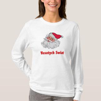 T-shirt Le père noël polonais #2
