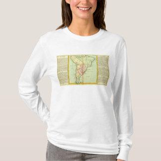 T-shirt Le Pérou, Chili, Brésil, Paraguay