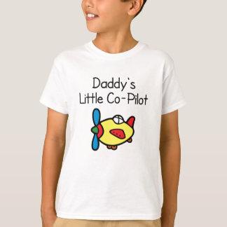 T-shirt Le petit co-pilote du papa