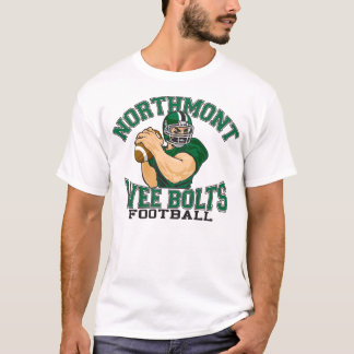 T-shirt Le peu de Northmont boulonne le football