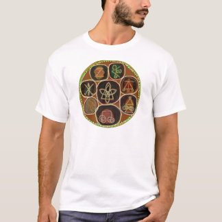 T-shirt Le PHOQUE de GUÉRISSENT :  Emblème de Karuna Reiki