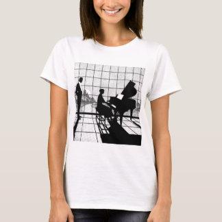 T-shirt Le pianiste