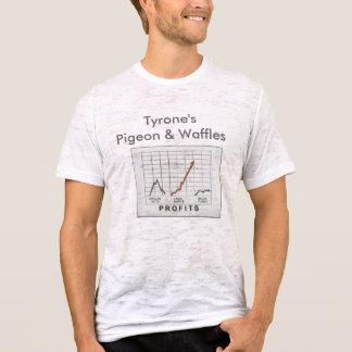 T-shirt Le pigeon et les gaufres de Tyrone