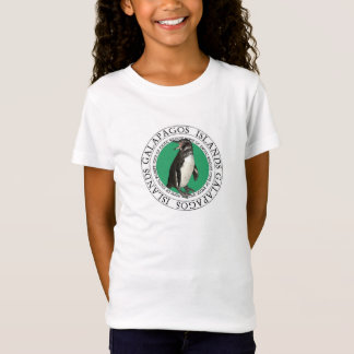 T-Shirt Le pingouin d'îles de Galapagos badine la pièce en