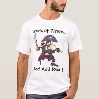 T-shirt Le pirate Buccaner - pirate instantané - ajoutent