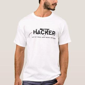 T-shirt le pirate informatique