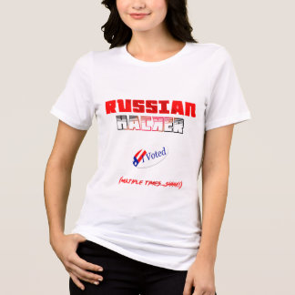 T-shirt le pirate informatique russe a voté la chemise