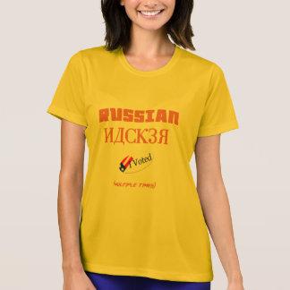 T-shirt le pirate informatique russe j'ai voté la chemise