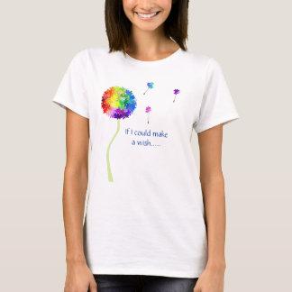T-shirt Le pissenlit de sensibilisation sur l'autisme