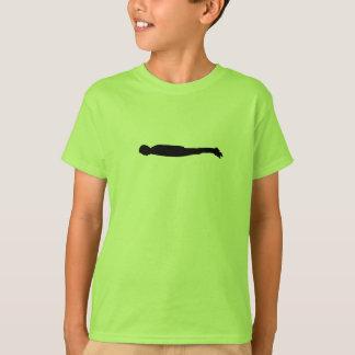 T-shirt Le Planking badine la pièce en t