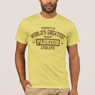 T-shirt Le plus grand athlète de Parkour du monde