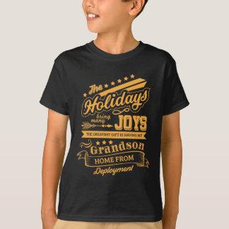T-shirt Le plus grand cadeau a ma maison de petit-fils