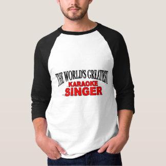 T-shirt Le plus grand chanteur du karaoke du monde