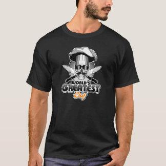 T-shirt Le plus grand chef v4 du monde