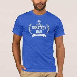 T-shirt Le plus grand coureur du papa du monde