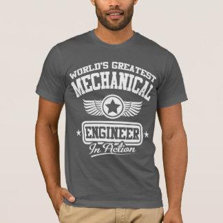 T-shirt Le plus grand ingénieur mécanicien du monde dans