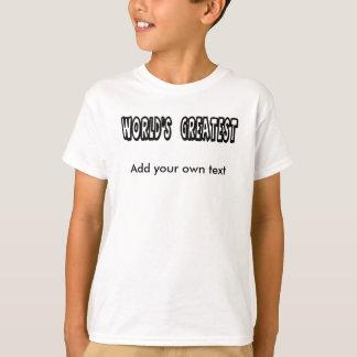T-shirt Le plus grand modèle du monde