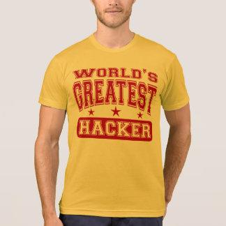 T-shirt Le plus grand pirate informatique du monde