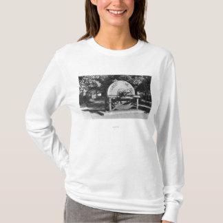 T-shirt Le plus grand ranch de Buffalo de meule des mondes