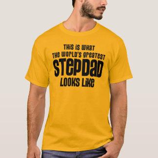 T-shirt le plus grand stepdad regarde le goût