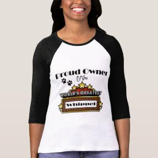 T-shirt Le plus grand whippet du monde fier de