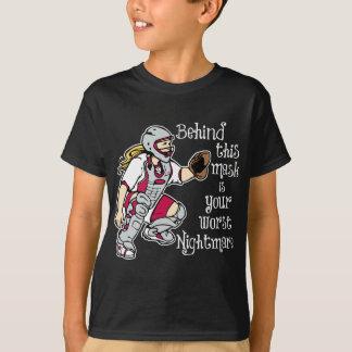 T-shirt Le plus mauvais cauchemar, red2