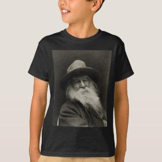 T-shirt Le poète riant Walt Whitman de philosophe