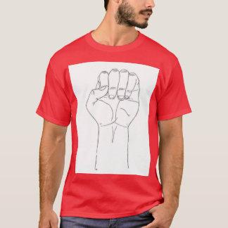 T-shirt Le poing de la fureur