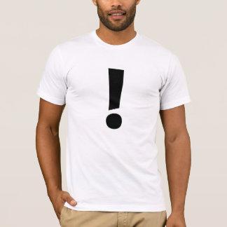 T-shirt Le point d'exclamation !