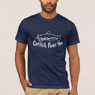 T-shirt Le poisson-chat me craignent